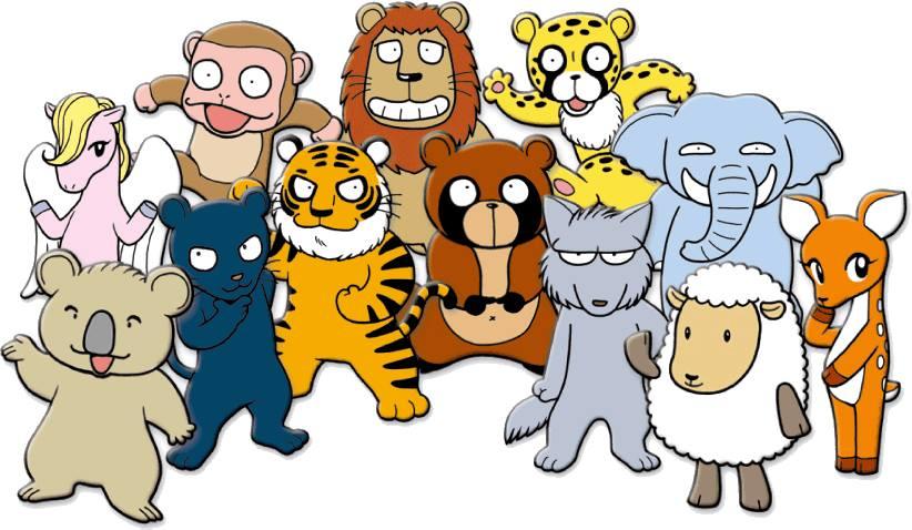 個性心理学12の動物