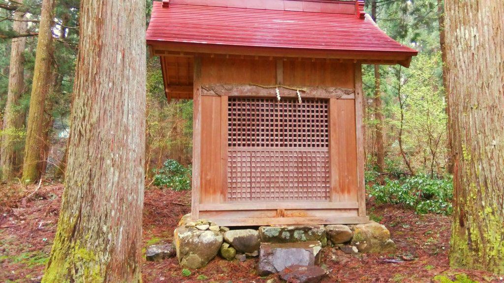平泉寺白山神社 境内社八幡神社