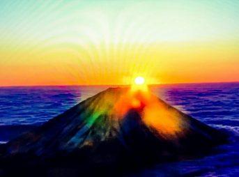 2020年富士山初日の出